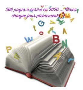 Bonne année... Je vous souhaite d'écrire 366 jolies pages de votre histoire de vie au fil de cette nouvelle année...